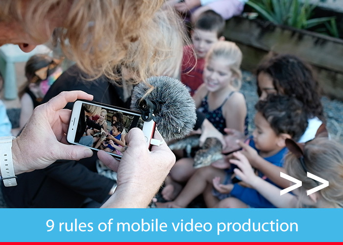9 rules of Mobile Video